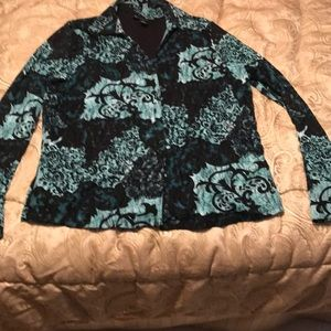 INC International Concepts Tops - Lacy Blouse